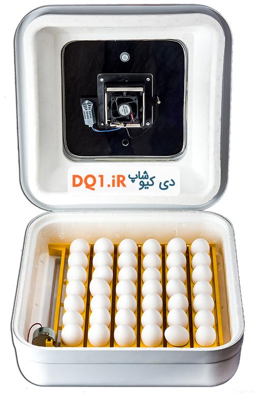 نمای داخلی دستگاه جوجه کشی 42عددی