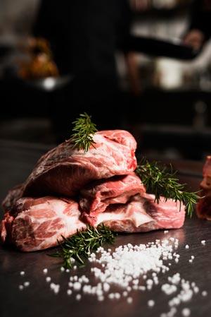 تاثیر نمک بر طبع گوشت