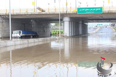 خسارت طوفان قائم شهر کشاورزی