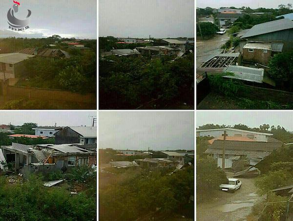 طوفان کشاورزی و دامپروری قائمشهر